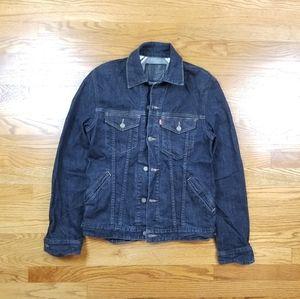 Levis Dark Wash Denim Jeans Jacket